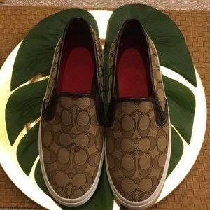 New Coach Slip-On Sneakers Chrissy Size 8